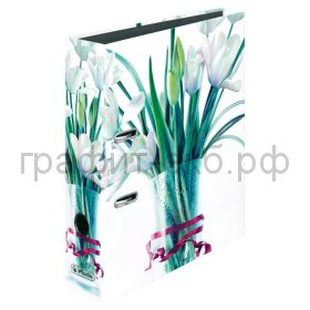 Файл А4 8см Blossoming in style Tulip Bouquet Herlitz 50017164