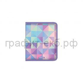 Папка для тетрадей А5+ ErichKrause Magical Rhombs на молнии ассорти 49350
