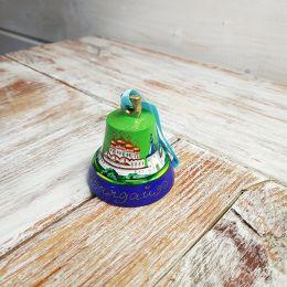 Валдайский колокольчик расписной №4 (зеленый)