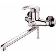 Смес ванна 35мм STUTTGART 12243 переключение в корпусе ручка петля сплошная
