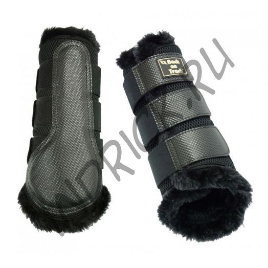 Ногавки 3D Mesh с меховой подкладкой