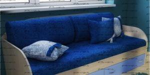 Комплект диванных подушек (5 шт) + покрывало Фанки Лайт
