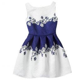 платье, модель 34, рост 130, рост 160