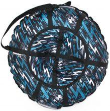 Тюбинг Hubster Люкс Pro Молнии синие 90 см
