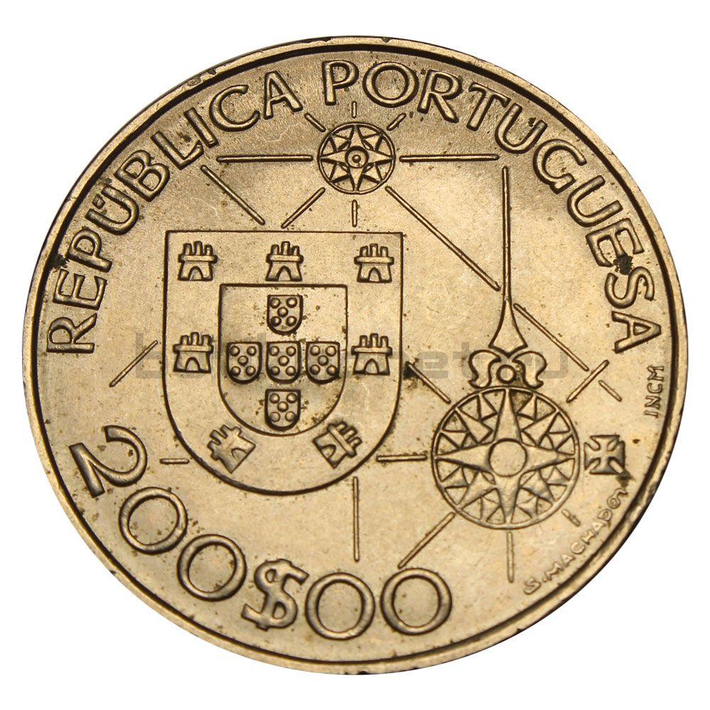 200 эскудо 1992 Португалия Новый мир - Америка