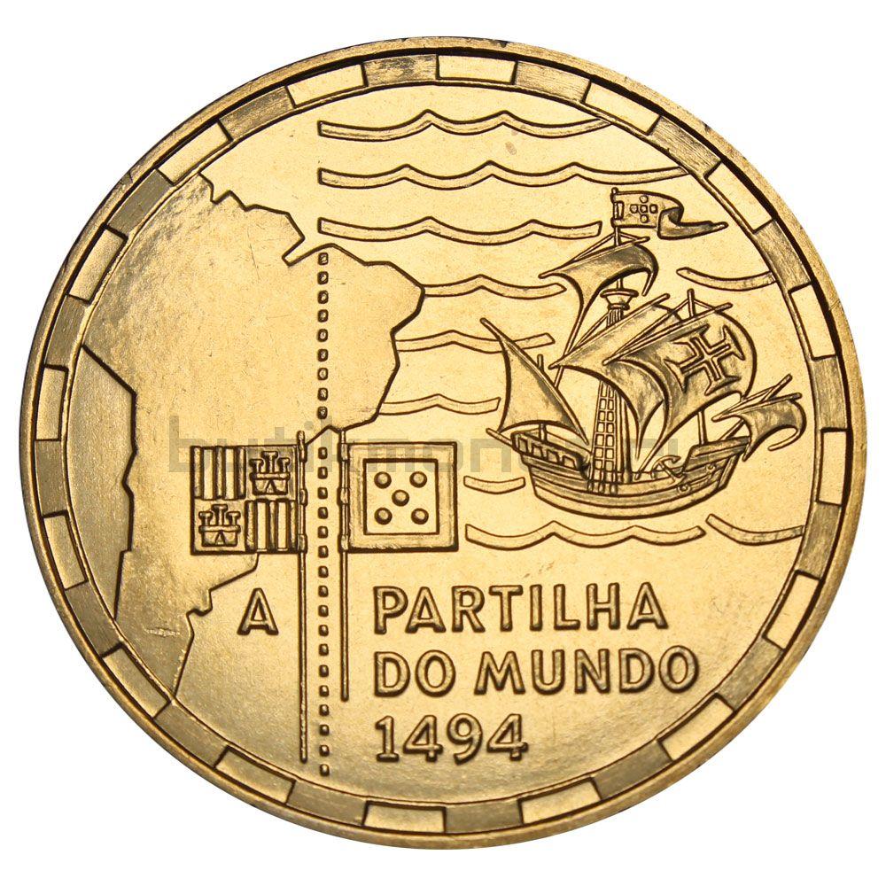 200 эскудо 1994 Португалия 500 лет с момента разделения зон влияния между Португалией и Испанией