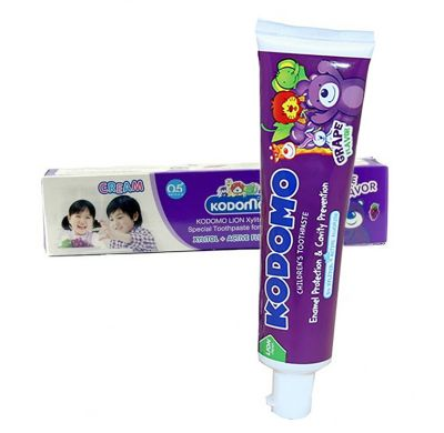 Lion Kodomo Деткая зубная паста гелевая со вкусом ягод 40 гр