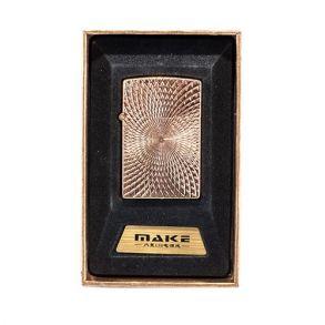 Зажигалка подарочная MAKE USB