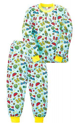 Пижама c начесом для девочки 2-5 лет Sladikmladik SM1092