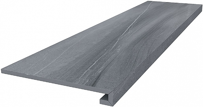 DL500500R/GCF | Ступень клееная Роверелла серый