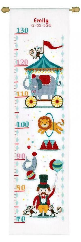 Набор для вышивания Ростомер Цирк Vervaco (PN-0021626)