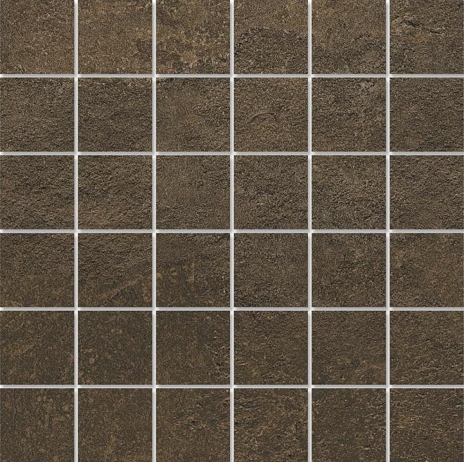 DD2002/MM | Декор Про Стоун коричневый мозаичный