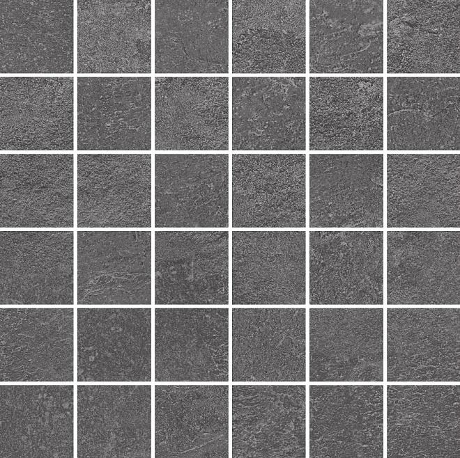 DD2006/MM | Декор Про Стоун антрацит мозаичный