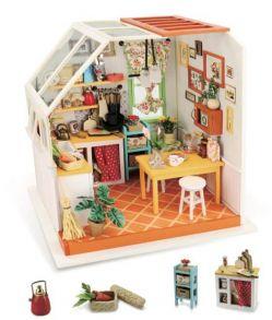 Набор для создания интерьера в миниатюре(Румбокс) «Уютная кухня» 19*16.5*18.7см.