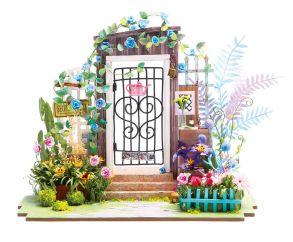Набор для создания интерьера в миниатюре (Румбокс)  «Садовая калитка» 210*120*175 мм