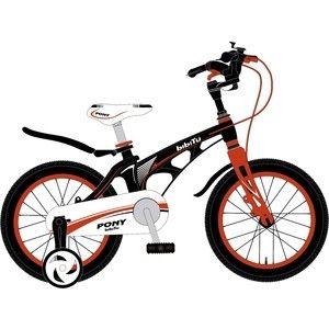 """Велосипед 18"""" BIBITU PONY, черный"""
