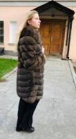 Купить шубу из соболя в Москве цены фото