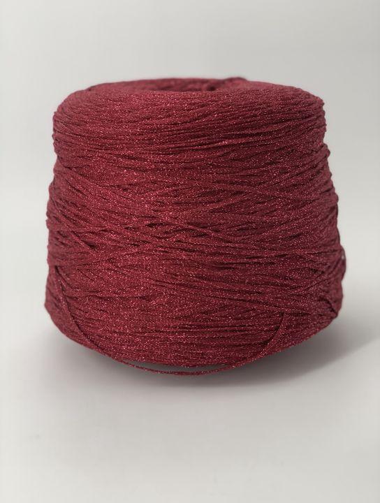 Ленточный люрекс Clever s.r.l. Orione 8 цвет бордовый