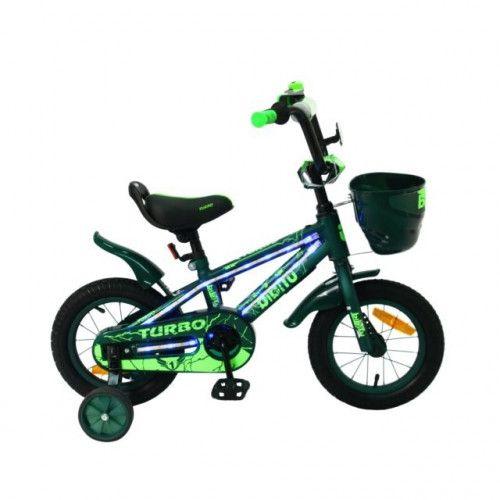 """Велосипед 16"""" BIBITU TURBO, зеленый"""
