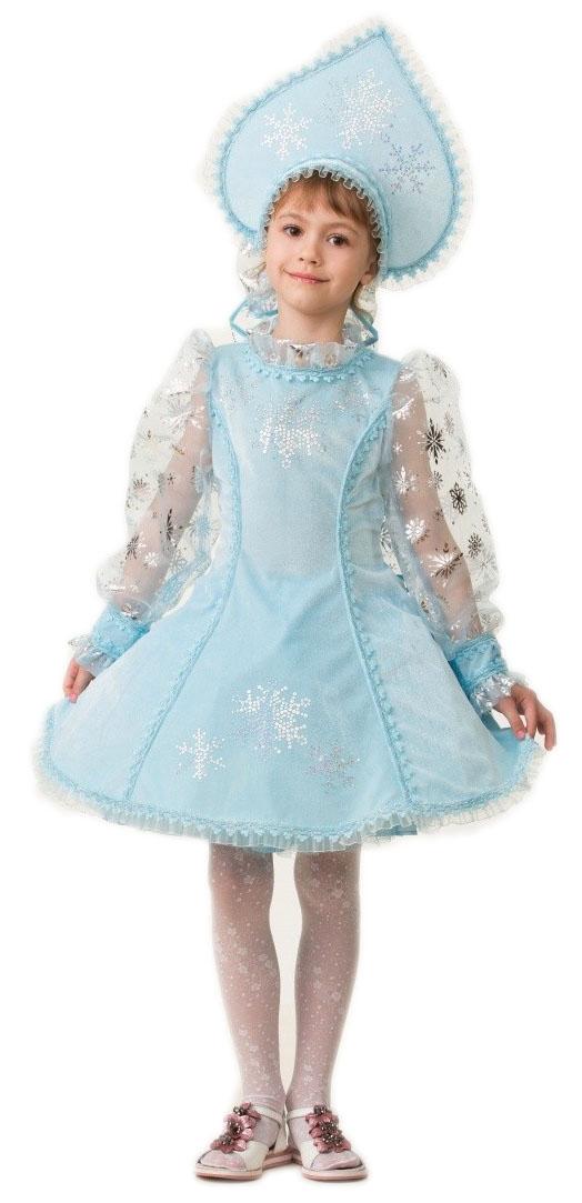 Велюровый костюм Снегурочки