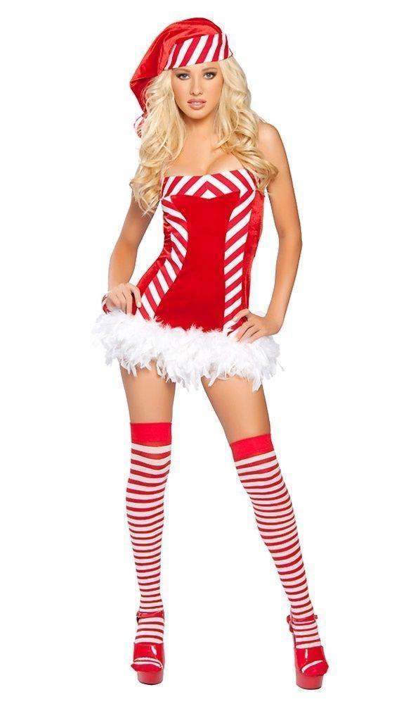 Sexy candy striper ostume