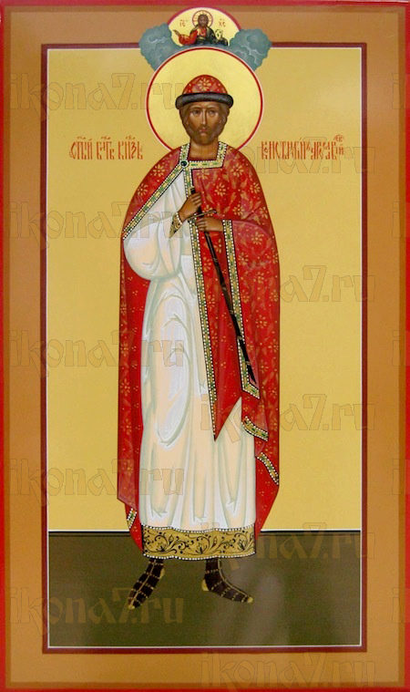 Икона Константин Ярославский благоверный князь