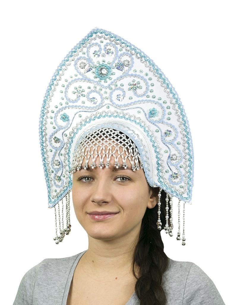 Белый кокошник Ярославна