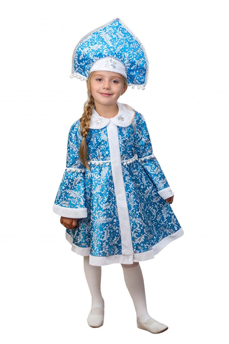 Детский костюм Снегурочки-внучки