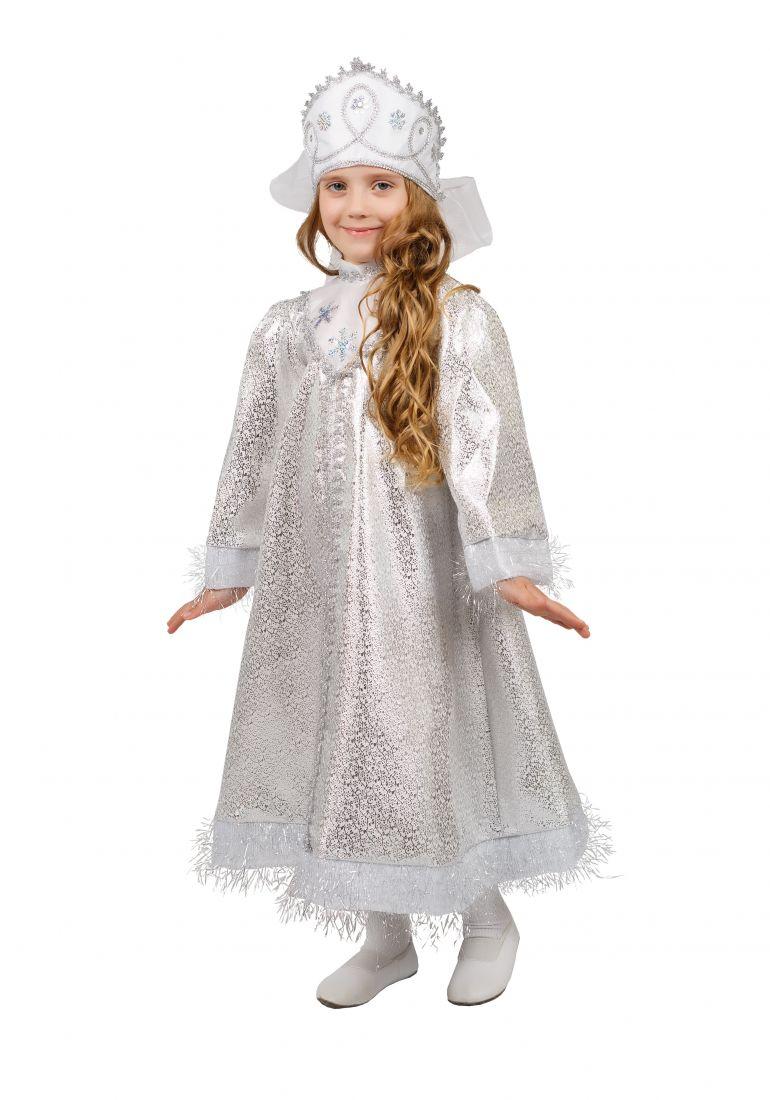 Детский костюм Сверкающей Снегурочки