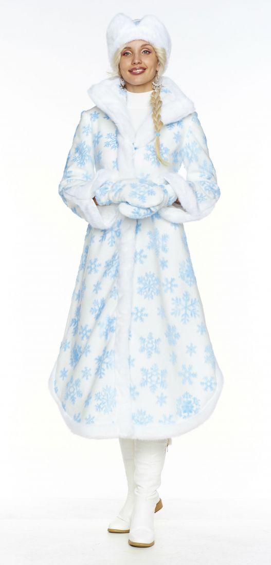 Меховой костюм Снегурочки Боярыни