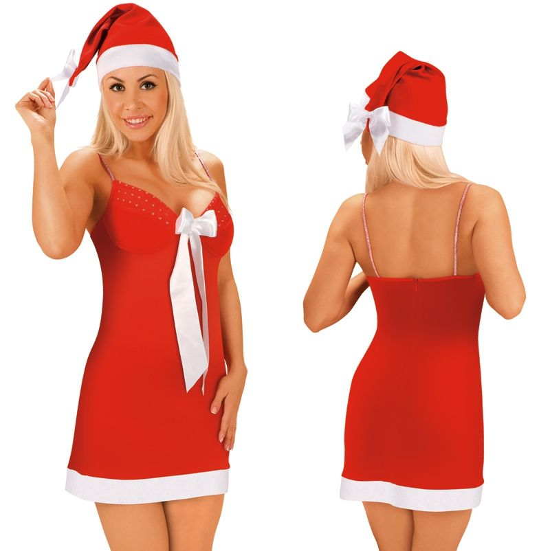 Костюм рождественский с бантиком