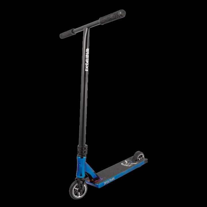 Трюковой самокат TT Excalibur (2020) синий хром