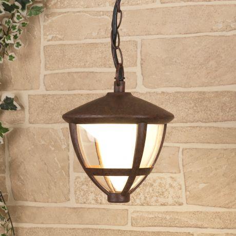 GL LED 3001H / Светильник садово-парковый со светодиодами Gala H брауни (GL LED 3001H)