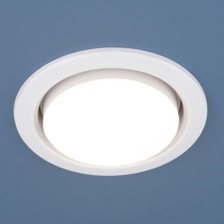 1035 GX53 WH / Светильник встраиваемый белый, комплект 10 шт