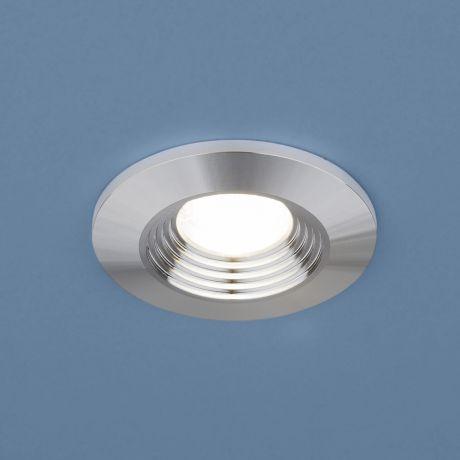 9903 LED / Светильник встраиваемый 3W COB SL серебро