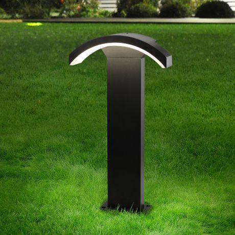 1677 TECHNO LED / Светильник садово-парковый со светодиодами черный Asteria F