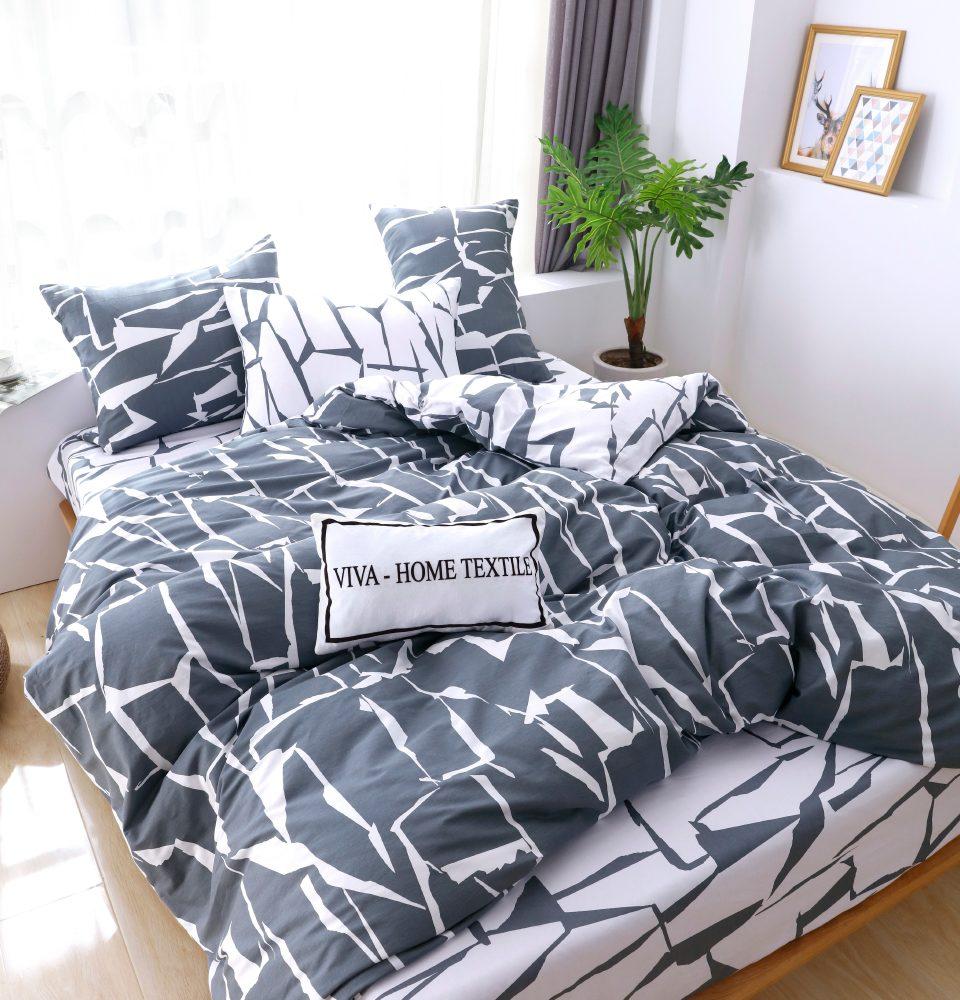 Комплект Дуэт Семейный  постельного белья Люкс-Сатин A094