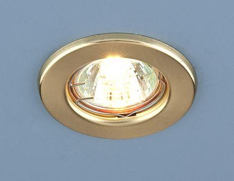 9210 MR16 SGD / Светильник встраиваемый золото матовое
