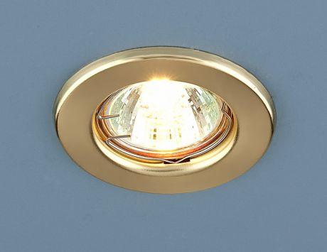9210 MR16 GD / Светильник встраиваемый золото