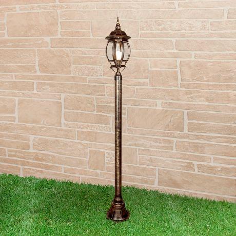 1043 / Светильник садово-парковый черное золото 100W, арт. A023668
