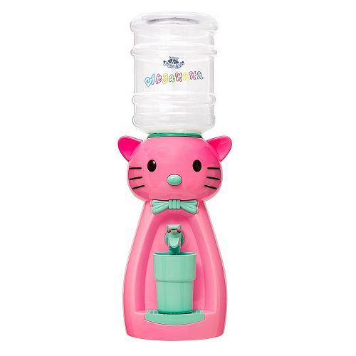 Кулер детский для воды Акваняня Кошка розовая с бирюзой