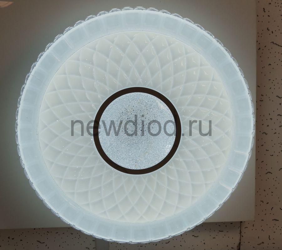 Управляемый светодиодный светильник AKRILIKA 682 48Вт-3800Лм 400мм пульт 6/3/4000K Oreol
