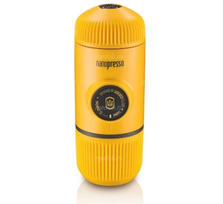Портативная ручная кофемашина Wacaco Nanopresso Portable Espresso Maker Yellow