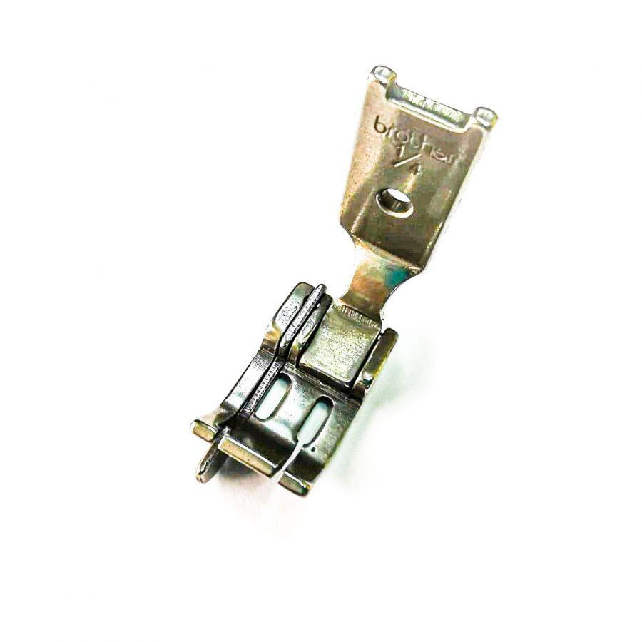Лапка 1/4 для двухигольной машины с левым ограничителем