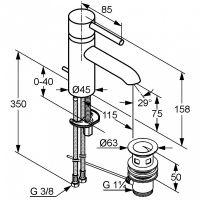 Kludi Bozz смеситель для раковины 382910576