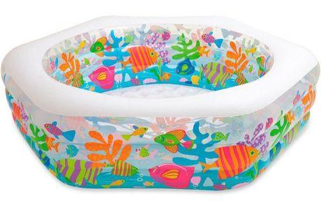 Детский надувной бассейн Intex 56493 «Океанский Риф», 191 х 178 х 61 см