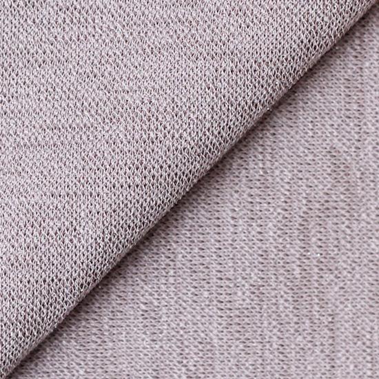 Лоскут трикотажной ткани  Пыльно-сливовый с люрексом