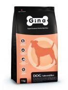 GINA Dog Dog Salmon & Rice Сухой корм для собак (лосось и рис) 3 кг
