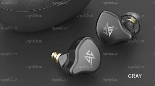 Беспроводные наушники TWS KZ S1D (Grey)