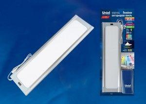 Светодиодная панель для мебели Uniel ULI-F42-7,5W/RGB/RC/DIM SENSOR IP20 SILVER